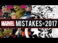 Marvel Comics Biggest Mistakes of the Year