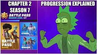 Fortnite Chapter 2 Season 7 Progression Explained (Battle Stars, Alien Artifacts, Bonus Rewards)