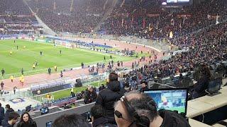Roma Shakhtar live con Carlo Zampa