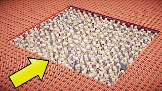50,000 TNT VS 500 IRON GOLEMS | Minecraft