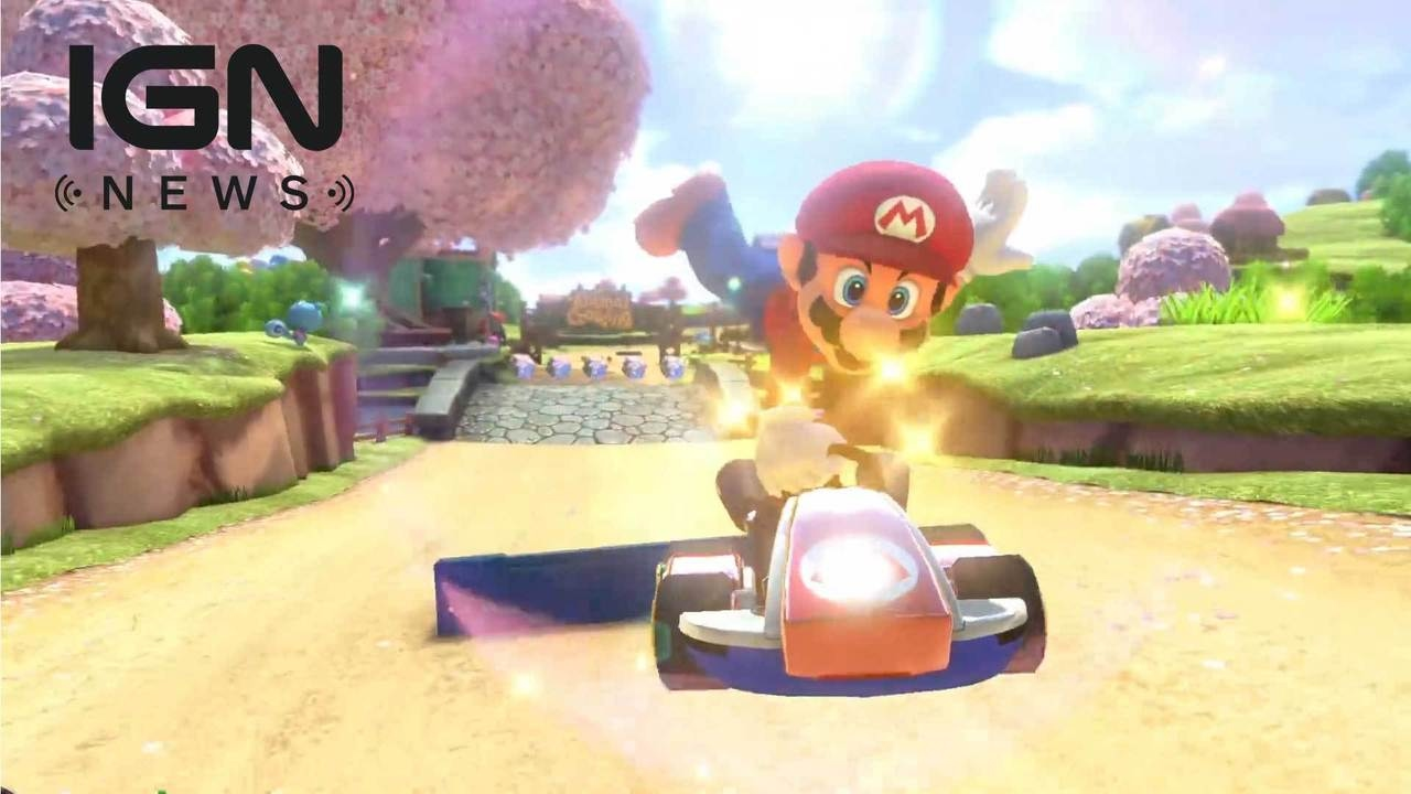 Mario kart 8 for sale - Mario Kart 8 Deluxe Nintendo Switch Launch Sales Announced Ign News