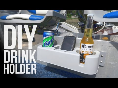 Diy Modified Drink Holder For The Boat Youtube