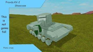 Roblox plano louco Prada KV-2 Showcase