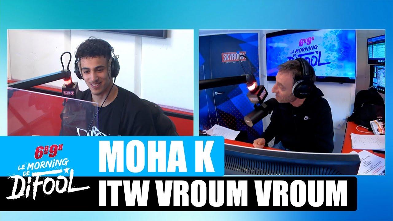"Moha K - Interview ""Vroum vroum"" #MorningDeDifool"