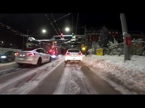Night Drive | Zürich City | January 15, 2021 9pm