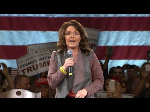 "Sarah Palin: Protesters engaged in ""petty, punk-ass little thuggery"""