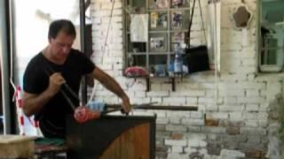 Муранское стекло (часть 1)(Изготовления вазы (техника выдувания), 2009-10-21T16:20:56.000Z)