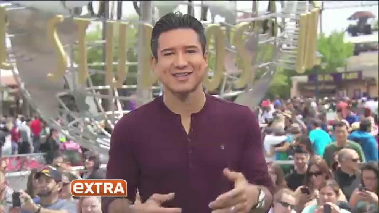 Mario Lopez Extra Universal Studios