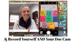 Recording Yourself AND Your Doc Camera Hack for Virtual Lessons / How to Make a Doc Camera Hack