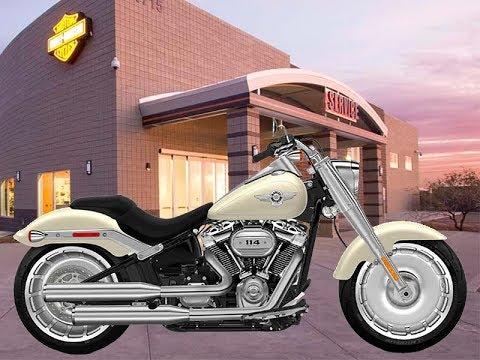 Harley-Davidson® 2018 Fat Boy 114 Softail For Sale - YouTube
