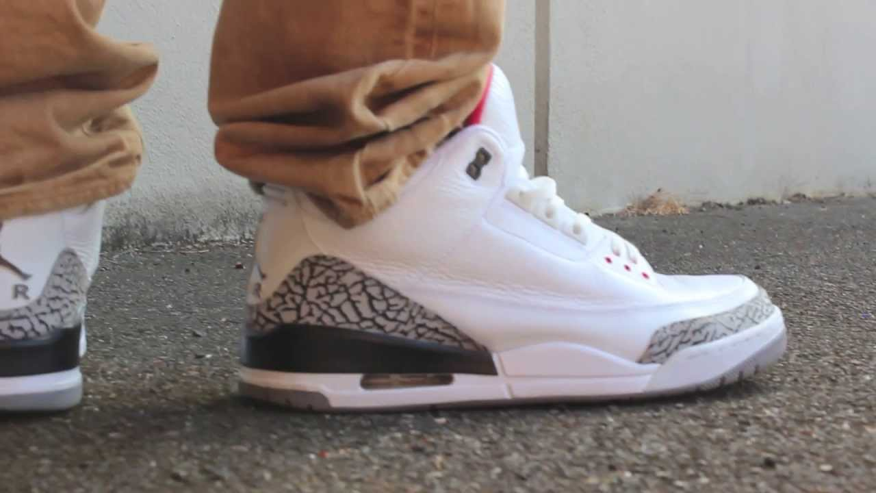 huge discount 1c379 e184f White Cement Air Jordan Retro 3 III 2011 Review