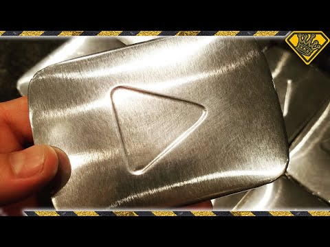 "Thumbnail: ""Silver Play Button"" Chocolate Bars"