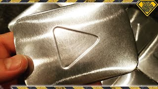 """""""Silver Play Button"""" Chocolate Bars"""