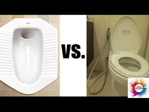 Indian Toilet Vs Western Toilet Funny Views Youtube