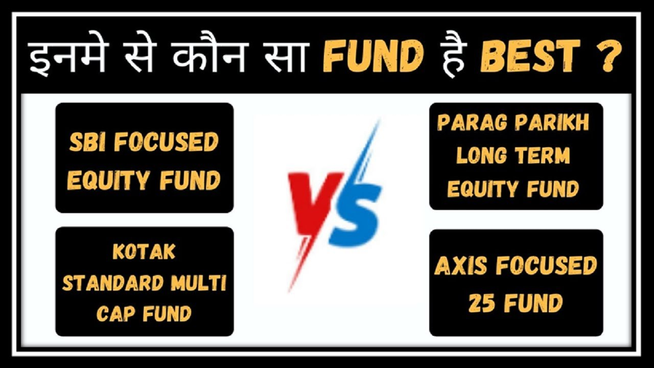 SBI Focused Equity Vs Parag Parikh Long Term Equity Vs Kotak Standard Multi Vs Axis Focused 25 Fund