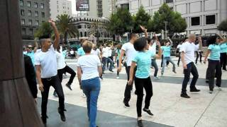 San Francisco Flash Mob- Hello