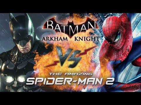 Рэп Баттл - Batman: Arkham Knight vs. The Amazing Spider-Man 2