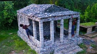 Build Stone's Roof of Roman Temple