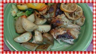Savory Honey Lemon Chicken Recipe ~ Noreen's Kitchen