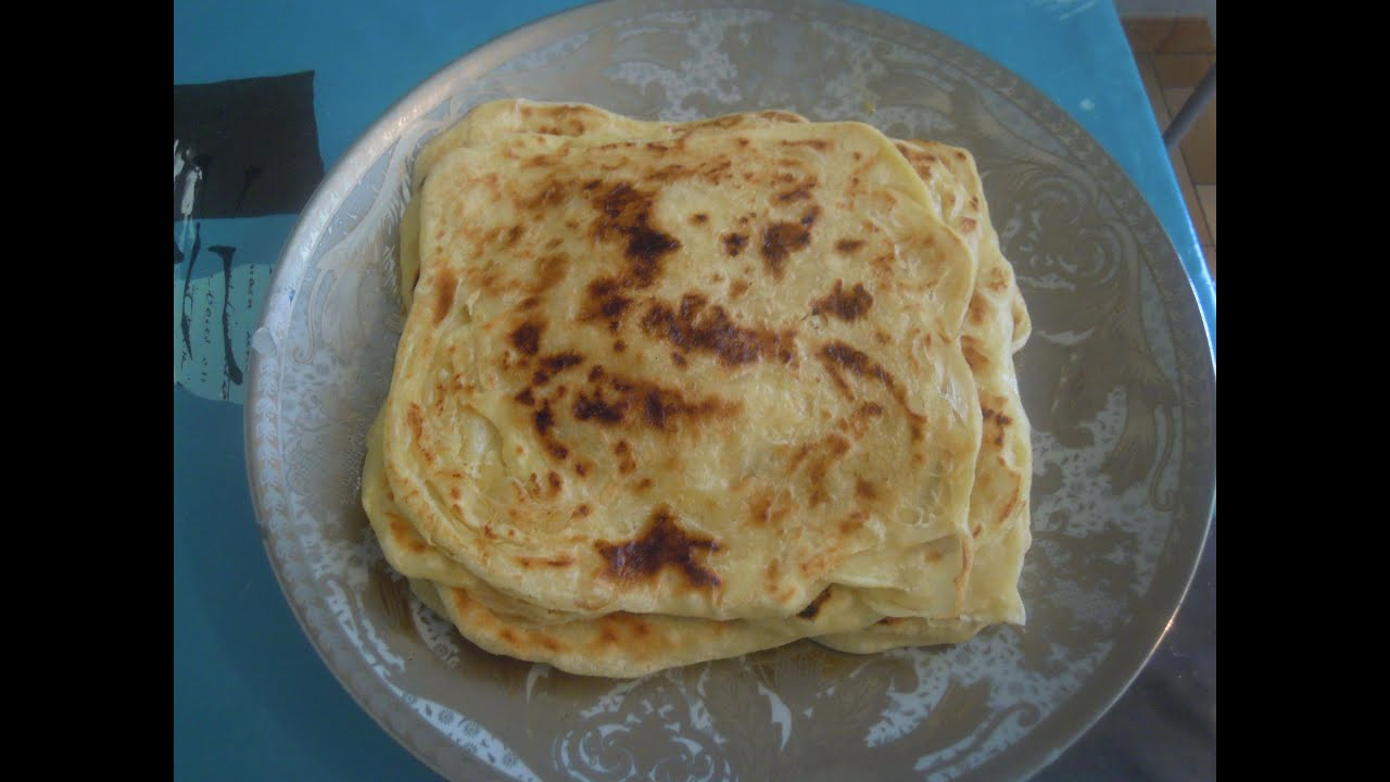 Msemen msemen morrocan layered crepe cr pe feuillet e marocaine youtube - Comment faire de crepe ...