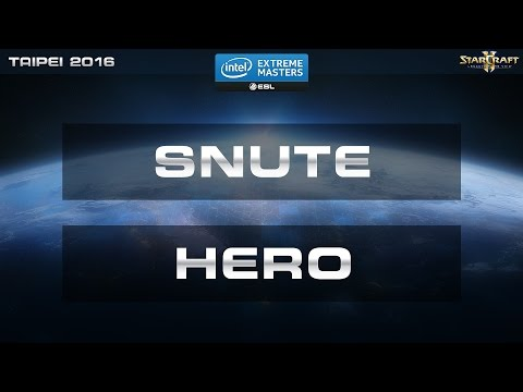 StarCraft 2 - Snute vs. herO (PvZ) - IEM Taipei 2016 - Quarter Final