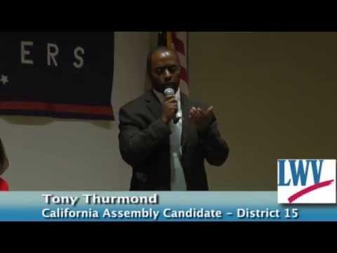Tony Thurmond -- California Assembly District 15