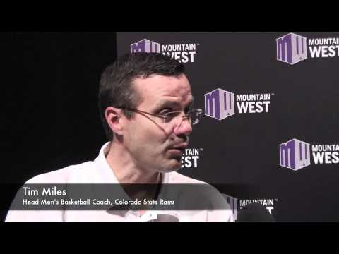 TheMWC.com Chats With Colorado State Head Men's Basketball Coach Tim Miles