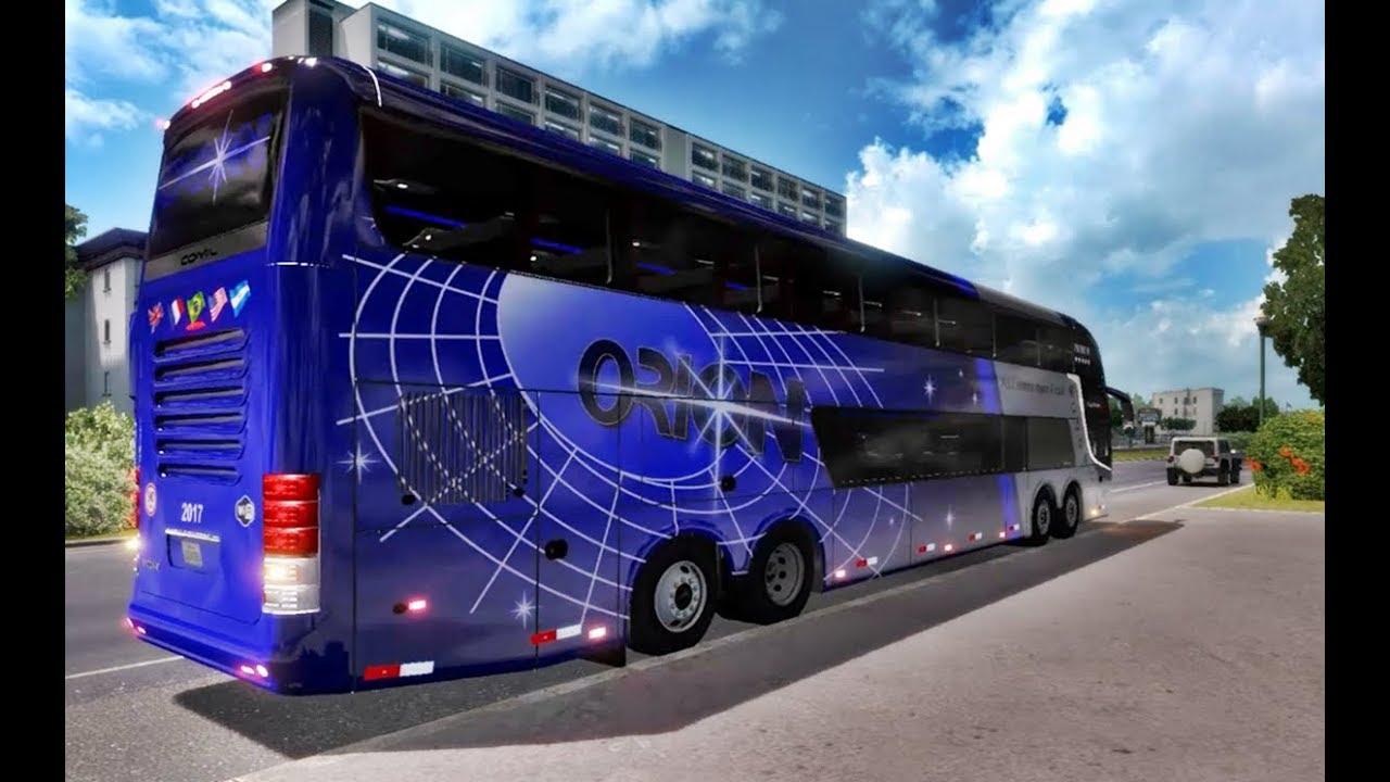 [American Truck 1 32] Bus Comil DD 15M Volvo,