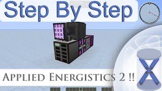 Step By Step: Applied Energistics 2 || Basic Setup || (Minecraft Tutorial)