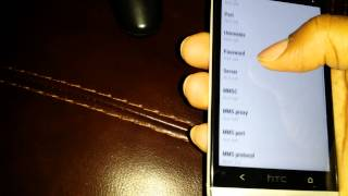 How to get t-mobile data working on a at&t htc one