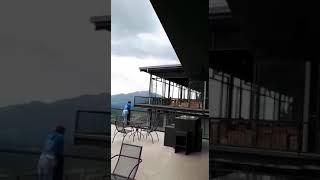 Горы в Индии, вид с отеля