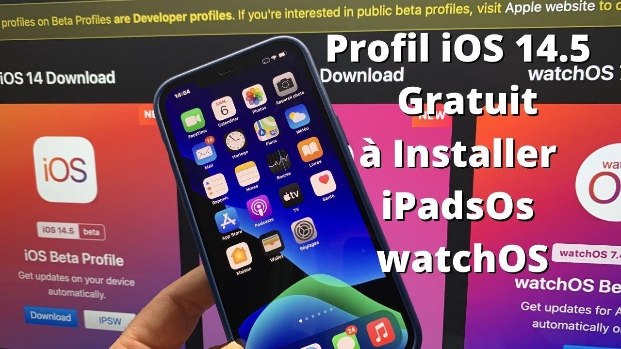 iOS 15 Bêta Profil iOS 15 :: Comment installer iOS 15 profil développeur gratuitement