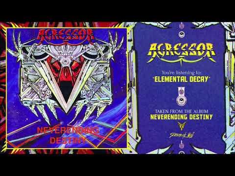 Agressor - Neverending Destiny (full album) 1990