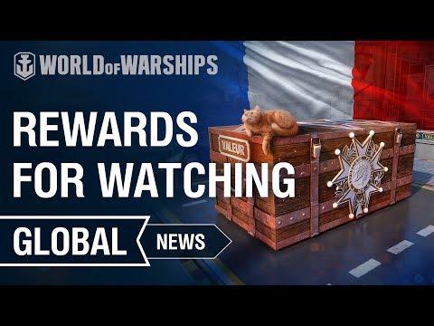 Watch Streams — Earn Rewards! | World of Warships