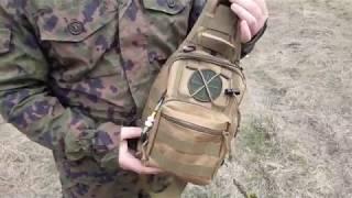 Сумка рюкзак EDC сумка тактическая Protector Plus...