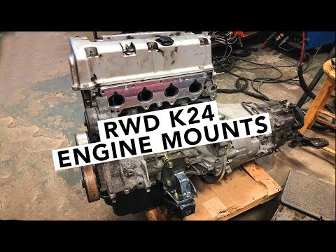 Fabricating K24 to S14 Engine Mounts - Honda K-Swap 240SX - EP05