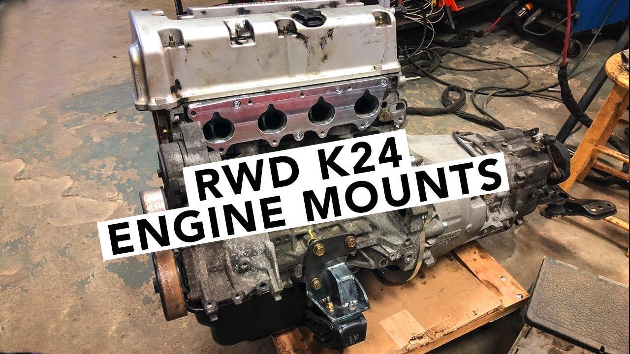 Fabricating K-Swap S14 Engine Mounts - Honda K-Swap 240SX