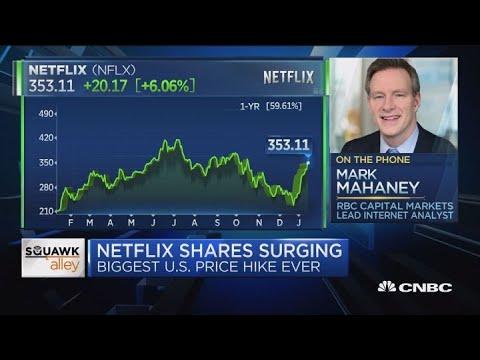 Kevin Johnson - Netflix Is Raising Their Price