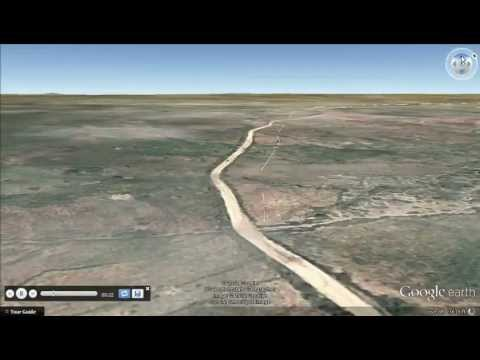Virtual Aerial Tour of Badime, Eritrea, Africa
