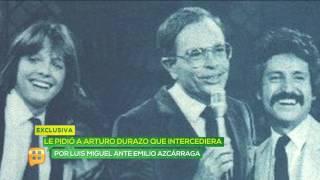 Arturo Durazo intercedió a favor de Luis Miguel con Emilio Azcárraga?