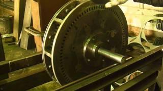 видео Статическая и динамическая балансировка дисков роторов турбин