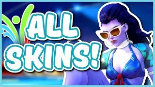 Overwatch - ALL 2017 SUMMER GAMES SKINS AND ITEMS