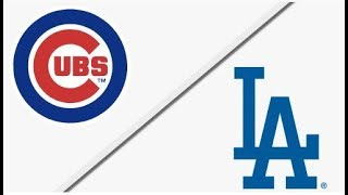 Chicago Cubs vs Los Angeles Dodgers | NLCS Game 2 Full Game Highlights