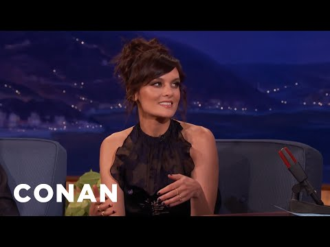 Frankie Shaw & Denis Leary Are Second Cousins Once Removed  - CONAN on TBS
