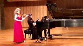 Ignacy Jan Paderewski, Violin Sonata Op. 13, I. Allegro con fantasia
