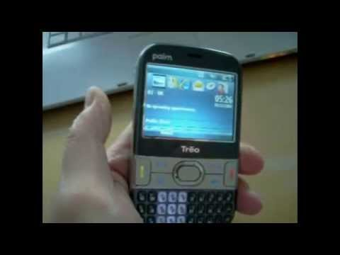 Palm Treo 500 Overview