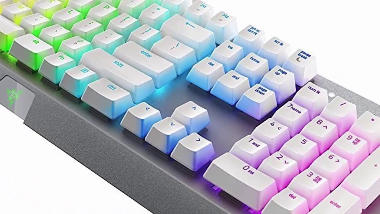 RGB Ergonomic Wired Mechanical Gaming Keyboard Razer BlackWidow X ...