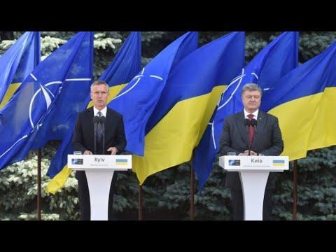 Ukraine president Petro Poroshenko asks NATO to send ships
