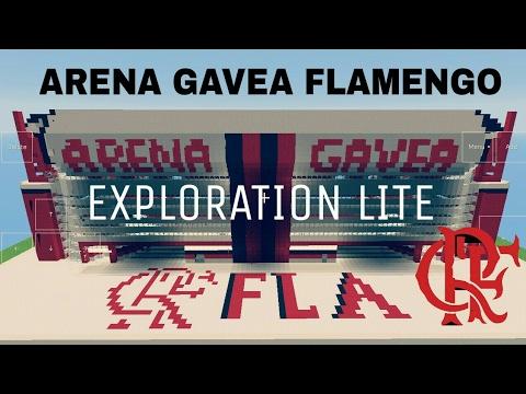 ARENA ACÚSTICA DA GAVEA FLAMENGO ESTADIO DO FLAMENGO - #04 MINECRAFT/EXPLORATIO PRO EXPLORATION LITE