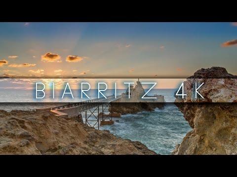 Biarritz 4K - Timelapse & Hyperlapse